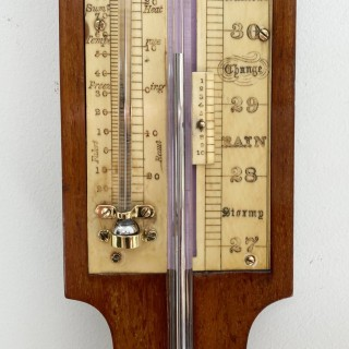 Very Early Stick Barometer by Negretti & Zambra London