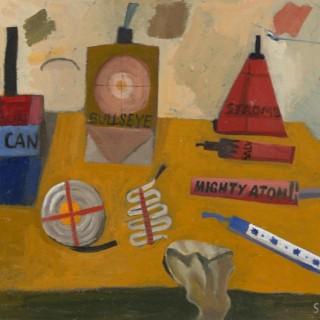 'Fireworks' by Simon Quadrat PPRWA NEAC (born 1946)