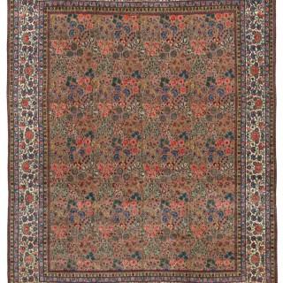 Antique Tehran carpet