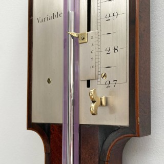 Mid Eighteenth Century Stick Barometer by Henry Pyefinch London