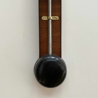 George IV Scottish Stick Barometer by Gardners of Glasgow