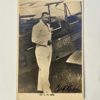 Ross Pocket Barometer Owned by Captain Cecil Bebb - General Franco's Pilot