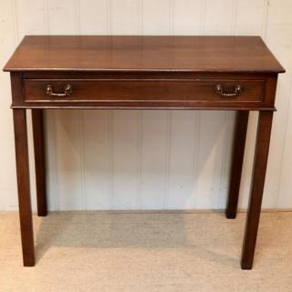 Early 19th Century Oak Side Table