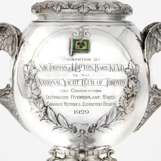 The Thomas Lipton National Canadian Regatta Hydroplane Cup, 1929
