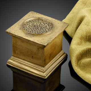 Italian 16th Century Gilt Bronze Sander