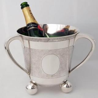 Antique Silver Wine Cooler