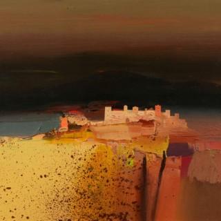 'Tuscan Autumn' by Chris Bushe RSW (born 1958)