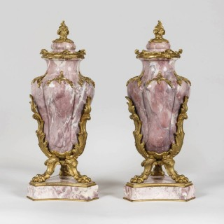 A Pair of Vases In the Louis XV Manner