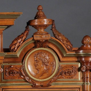 An Exhibition-Quality Cabinet By Maison Guéret of Paris