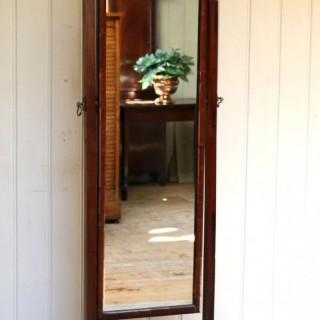 Mahogany Cheval Mirror