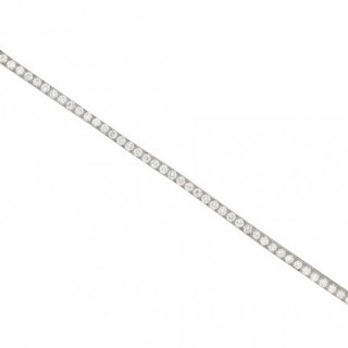 Tiffany & Co. diamond set line bracelet, American, circa 1920.