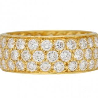 Van Cleef & Arpels vintage diamond ring, American, circa 1960.