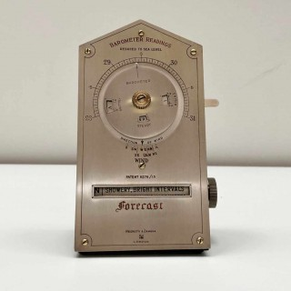 Early Twentieth Century Desktop Weather Forecaster by Negretti & Zambra London