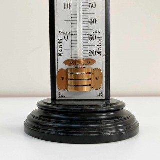 Very Large Victorian Desk Thermometer by W Watson & Sons London