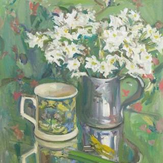 'Paper Whites' by Luke Martineau (born 1970)