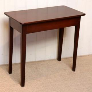 Mid 19th Century Low Mahogany Table