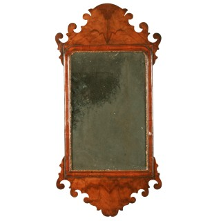 18th Century Style Walnut Mirror