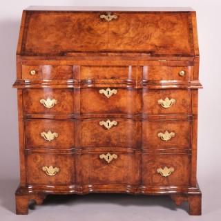 Early 18th Century Walnut Bureau