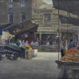 Rex Vicat Cole - Petticoat Lane, London