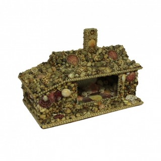 A SHELL GROTTO HOUSE