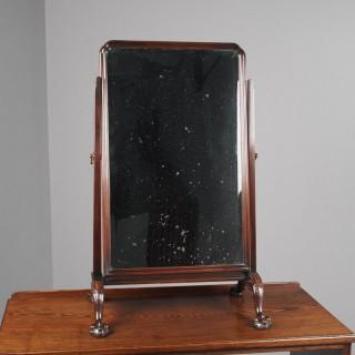 Edwardian Mahogany Dressing Mirror by Muirhead Moffat & Company