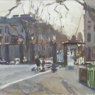 'Queen's Gate, Kensington' by Luke Martineau (born 1970)