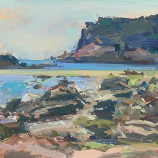 'An Afternoon at Portelet Bay, Jersey' by Luke Martineau (born 1970)