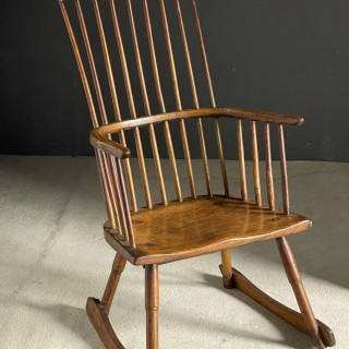 Comb back Windsor chair 1780