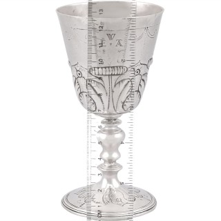 Sterling Silver Goblet - Antique Charles I (1630)