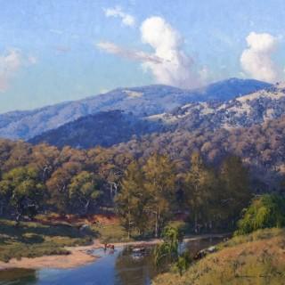 'Nundle Hills' by Warwick Fuller (born 1948)