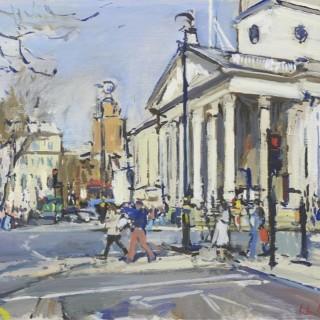 'St Martin's-in-the-Fields' by Luke Martineau (born 1970)
