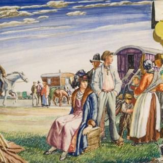 Harry Morley - The Romany Camp