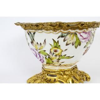 Antique Gilt Bronze & Samson Porcelain Centrepiece 19th Century