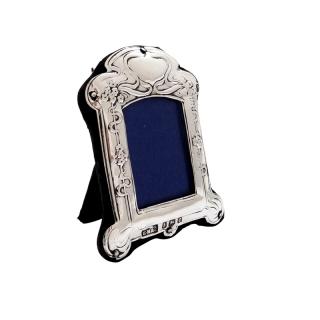Antique Art Nouveau Sterling Silver 2