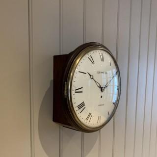 Convex Dial Fusee Wall Clock