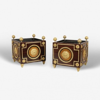 A Pair of Jardinières of the Napoleon III Period