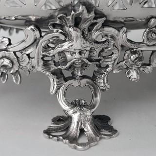 George II Silver Basket