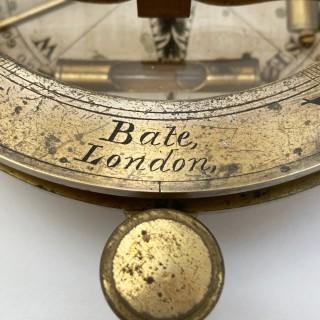 Georgian Universal Equinoctial Sundial by Robert Brettell Bate London