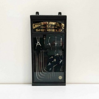 Showcase of Medical Instruments by Christopher Johnson & Co Sheffield