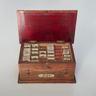 Early Twentieth Century Cased Set of Dentist Burs by Jota of Germany