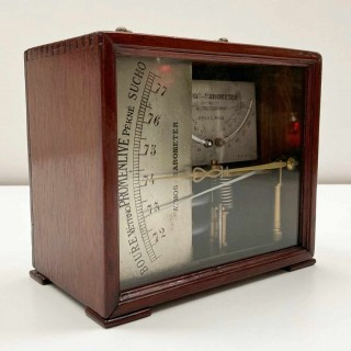French Victorian Atmos Barometer