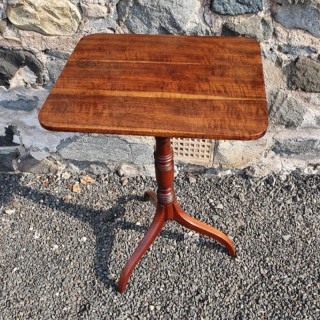 Elegant Regency Goncalo Alves Tripod Table