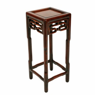 Late 19th Century Chinese Rosewood Stand