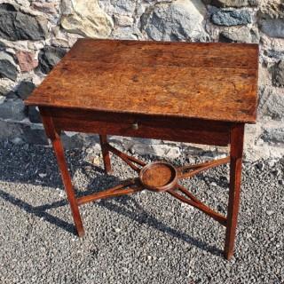 Pretty Little Georgian Oak Side Table