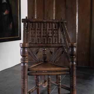 16th century Turner's armchair