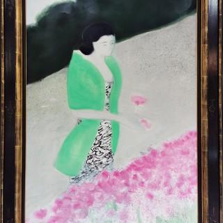 La Belle Jardinière by  André Brasilier (b.1929)