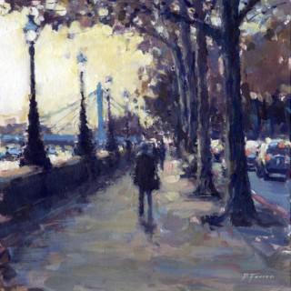 Evening, towards Albert Bridge