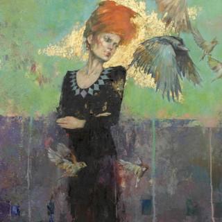 'Four Watchers West' by Michael Hyam (born 1958)