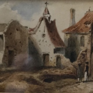 The Ruins of the Farm of Hougoumont