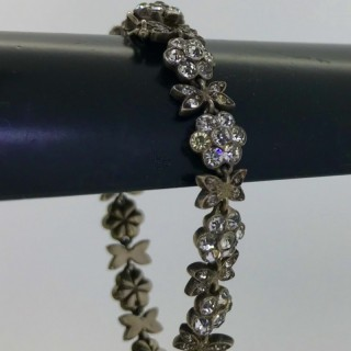 Antique French Paste Bracelet